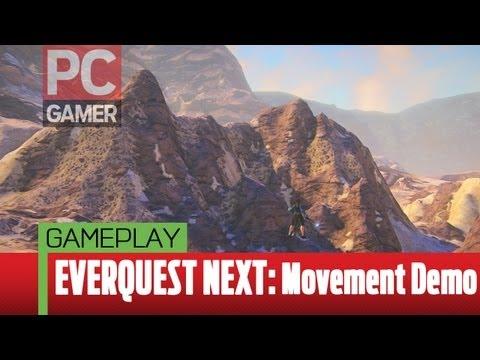 EverQuest Next gameplay – PAX 2013 Movement Demo