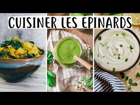 cuisiner-avec-les-épinards-frais---3-recettes-vegan-et-sans-gluten