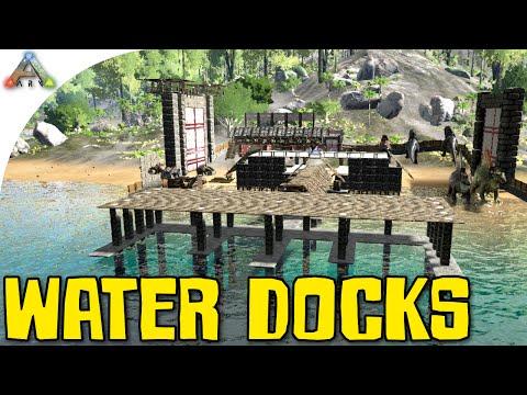 ARK: Survival Evolved - Water Docks (Gameplay)