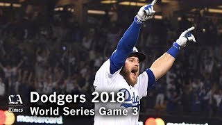 World Series 2018: The Dodgers win Game 3 of the World Series