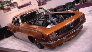 2011 SEMA Show Video Coverage - Sick Seconds '69 Camaro Gear Vendors V8TV