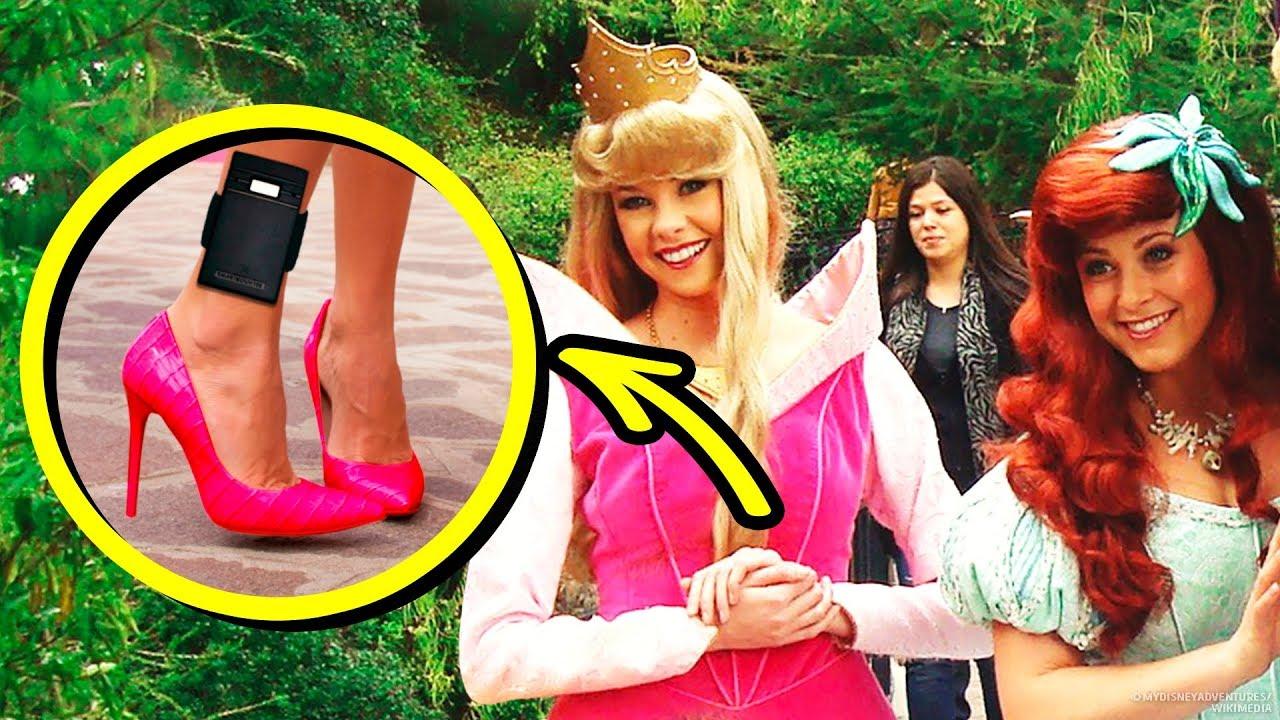 10 Grandes secretos que las princesas de Disney no pueden contarle a nadie