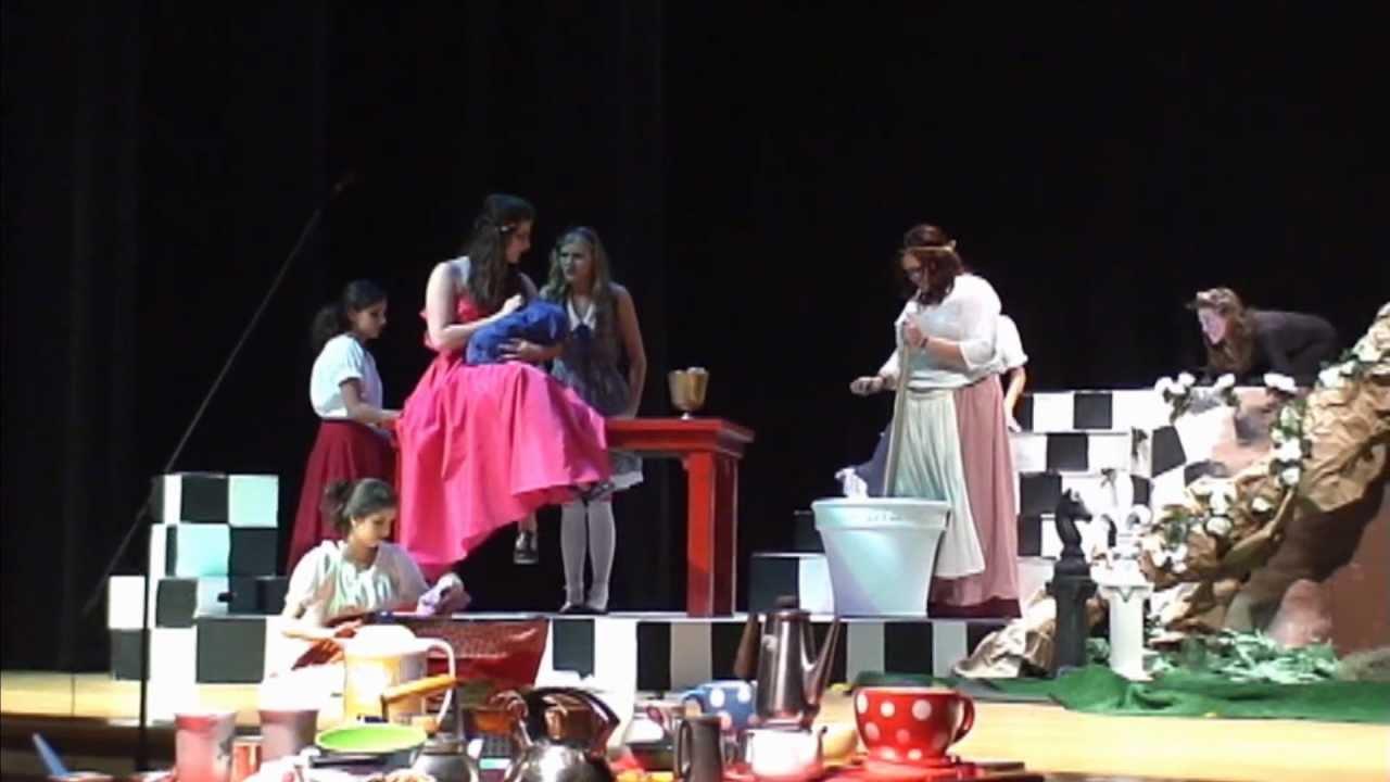 Alice in Wonderland The Duchess Kitchen.mp4 - YouTube