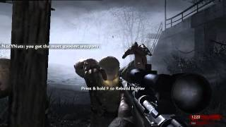 CoDWaW:Nazy zombies co-op part 1