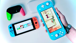 Новый Nintendo Switch Lite vs  Switch  Что брать     Обзор Switch Lite