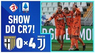 CR7 BRILHA NA GOLEADA DA JUVE! PARMA 0x4 JUVENTUS - Campeonato Italiano (19/12/20)