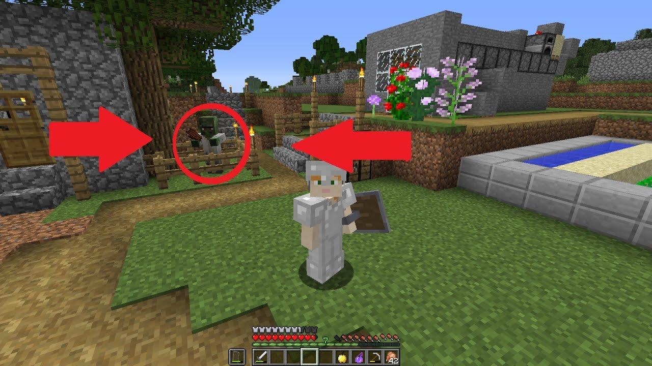 Minecraft: Como transformar um zumbi Villager em Villager normal