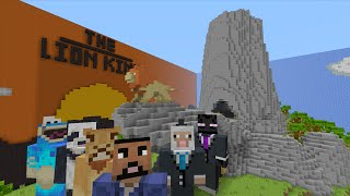 Minecraft Xbox - Hide and Seek - THE LION KING: Pride Rock!