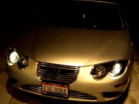 2000 Chrysler 300m Black Projector Headlights W Halos And Led Accents You