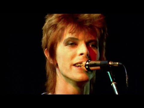 David Bowie - Starman - live 1972 (rare footage / 2016 edit)