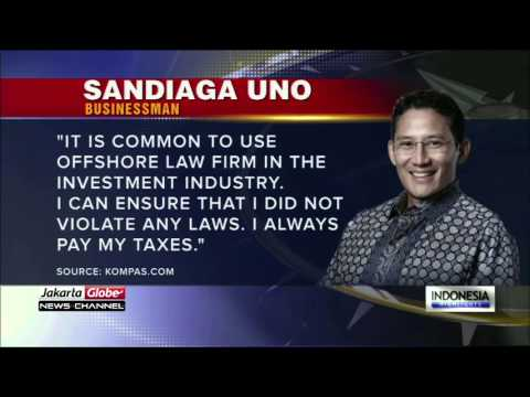 Panama Papers: Sandiaga Uno Owns Several Offshore COmoanies