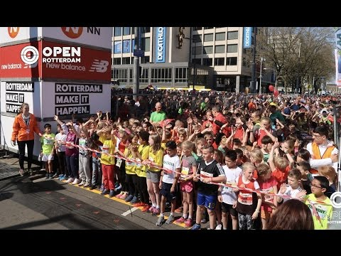 OPEN LIVE - NN Kids Runs en AD City Run Rotterdam 2017 [Samenvatting]