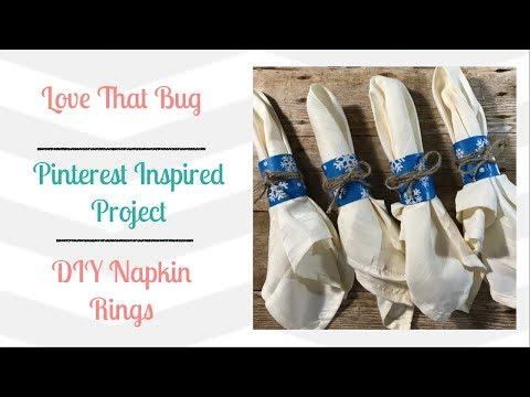 Friday PIP | DIY Napkin Ring