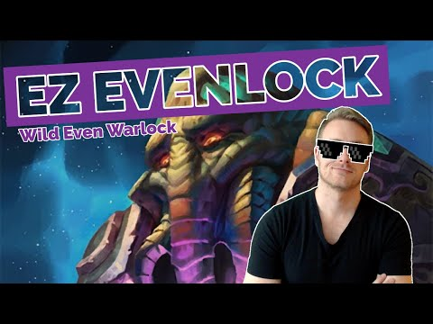 Hearthstone | EZ Evenlock | Wild Even Warlock | Rastakhan's Rumble