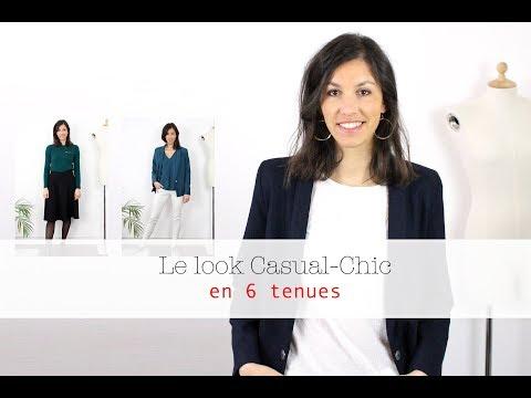 Le look CASUAL CHIC femme : règle et idées de looks