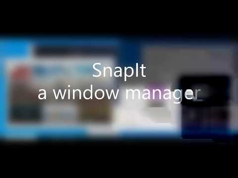 SnapIt - window manager (v1.3.6.0)