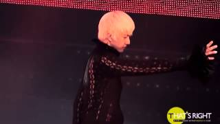 that s right 110820 mblaq conceert cry 천둥 focus