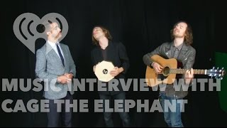 "Cage the Elephant Talks ""Tell Me I"