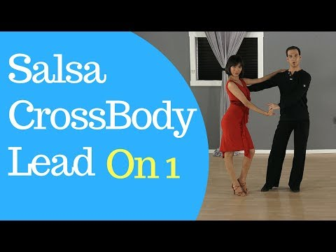 Salsa Cross Body Lead On 1 - Beginner Level