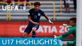 U17 Highlights: See Brewster brace as England beat Norway