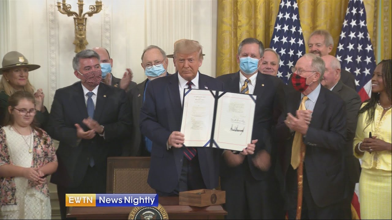 President Trump Signs the Great American Outdoors Act, Preserving ...