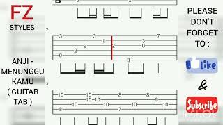 Download lagu GUITAR TAB | Anji - Menunggu Kamu (Guitar Tab)