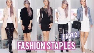 12 Basic Fashion Staples Part 2 | Inthefrow