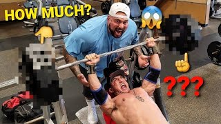 MEX LEE ALMOST DIES MAXING OUT ON BENCH PRESS!