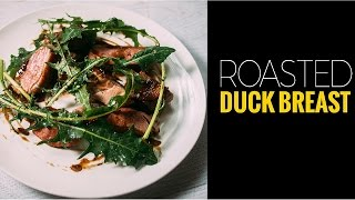 How to cook duck - roasted duck breast