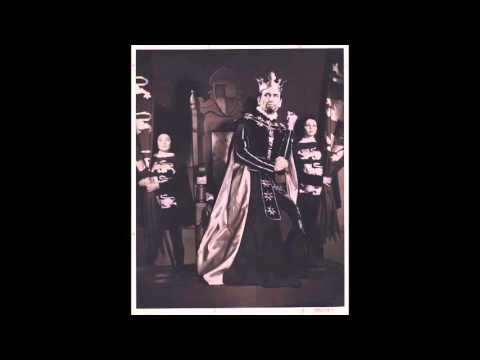 "1959 ""THE LIFE AND DEATH OF KING JOHN"" full audio recording"