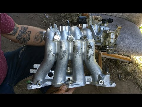 *Honda* Manifold clean and port start