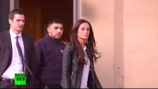 Adam Johnson, Stacey Flounders after guilty verdict