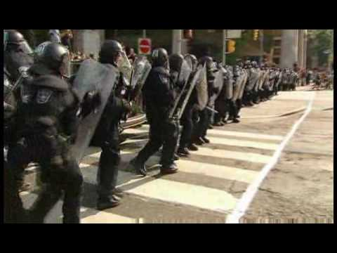 This Is What A Police State Looks Like! - Police Claim Enhanced Powers at Toronto G-20