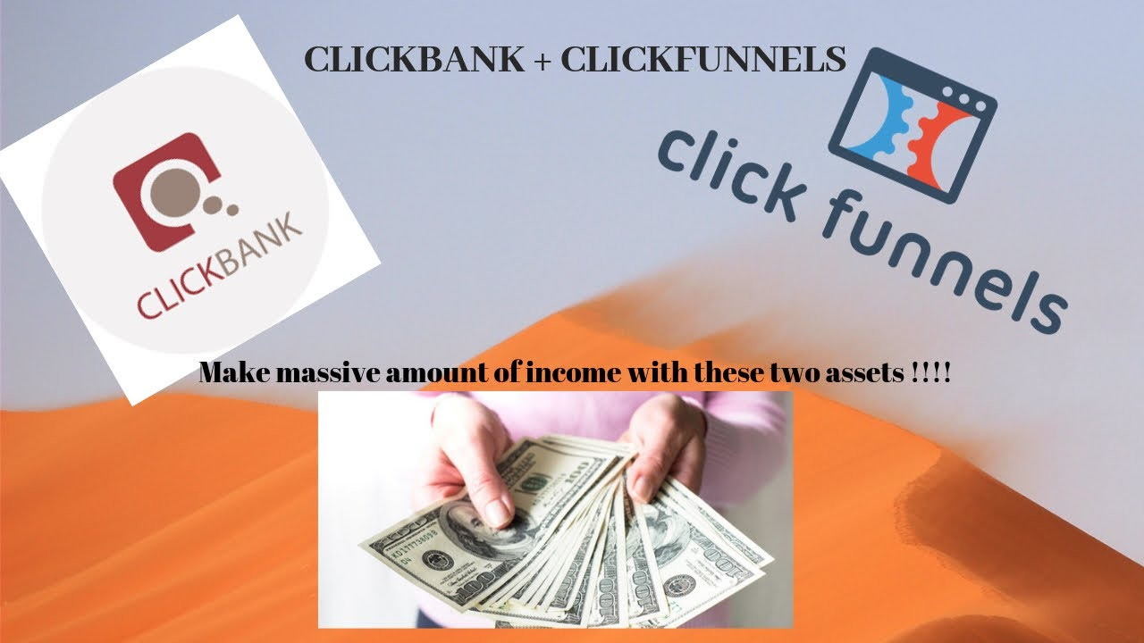 Make Money Online starting today ! Clickbank+CLickfunnels