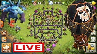 Playing Clash Of Clans, Completing Loon Event | Clash With Stunning Elysia | live Stream #1