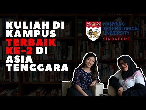 TIPS Kuliah Di Nanyang Technological University (NTU), Singapura #SharingSession