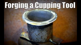How to Make  a Blacksmith Cupping Tool // Swage Block Alternative