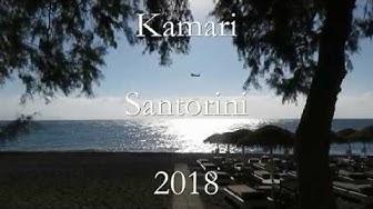 Kamari, Santorini 2018