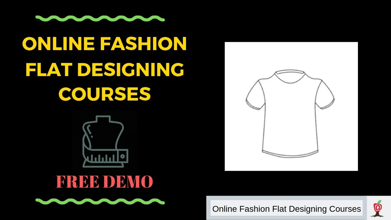 Online Fashion Design Courses For Beginners Cad Free Demo Class Learn How To Make A T Shirt 07 Youtube