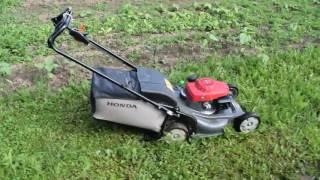 Совсем самоходная и автономная газонокосилка Honda HRX 537 C4 HYEA