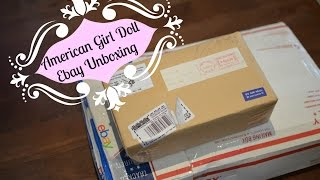 American Girl Doll Ebay Unboxing