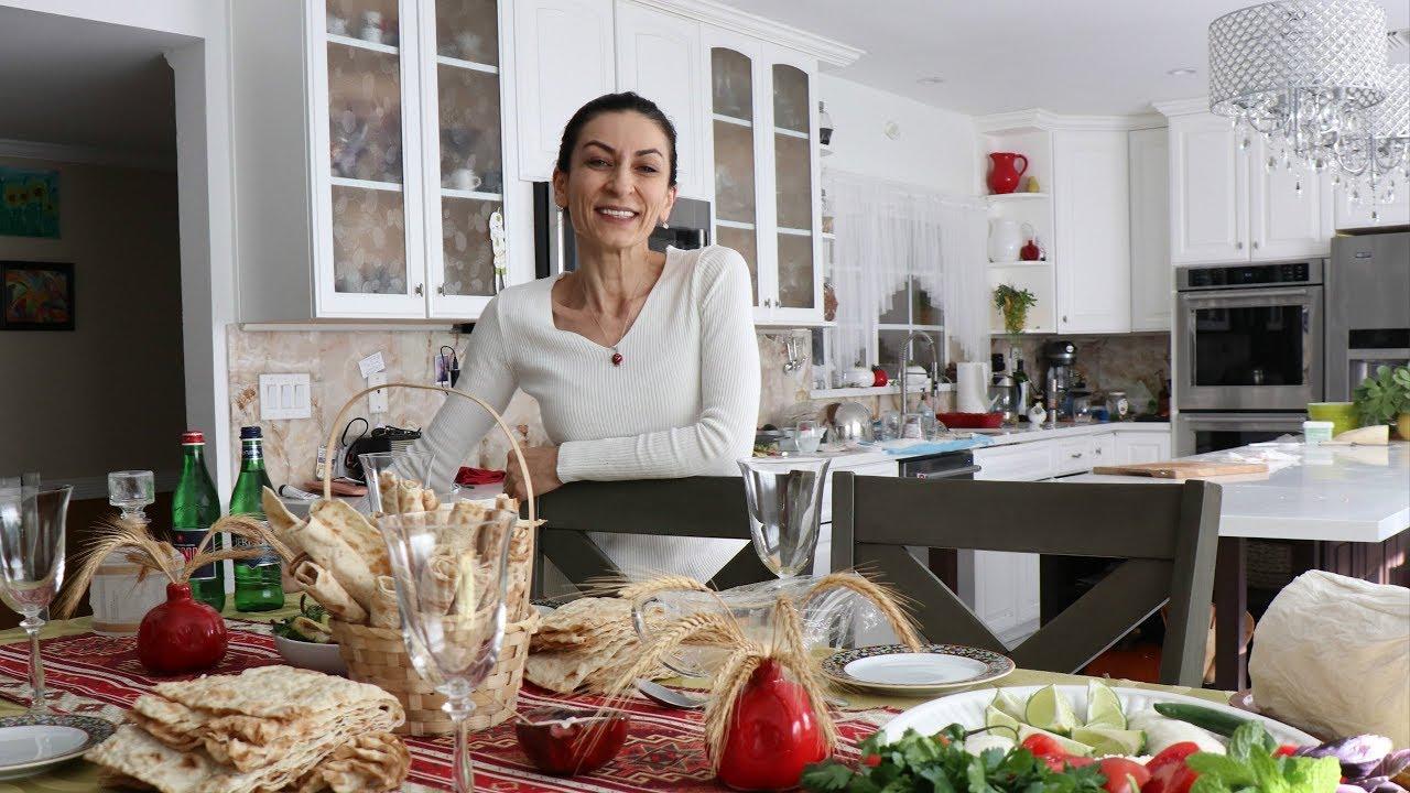 Как Я Подаю Хаш Своим Гостьям - Семейный Влог - Эгине - Heghineh Cooking Show in Russian