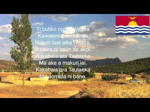 Kiribati National Anthem - Kiribati National Anthem