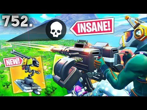 *NEW* TURRET BEST PLAYS..!!! - Fortnite Funny WTF Fails and Daily Best Moments Ep.752