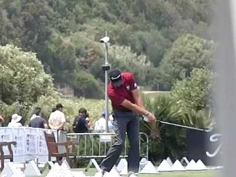 Retief Goosen Golf Swing Iron Slow Motion Volvo World