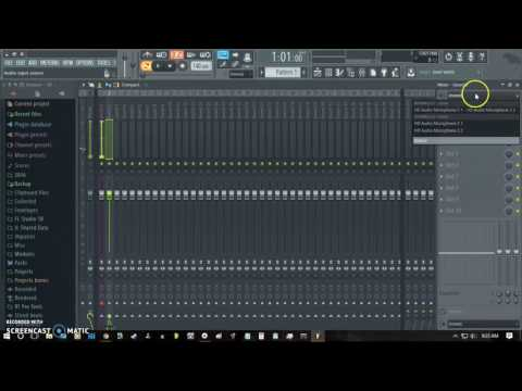 FL Studio Tutorial: How to Set Up for Multi-track Recording Into the Playlist