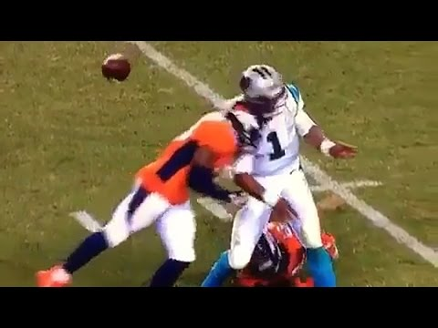 Cam Newton Takes Several Illegal Hits To Head, Says He Feels Sh*tty
