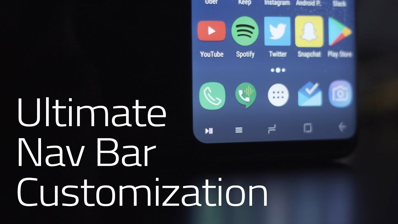 The Best Way to Customize Your Android's Nav Bar