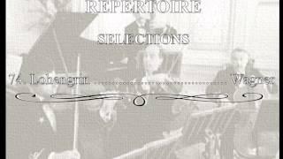 White Star Line Music ✯ REPERTOIRE SELECTIONS 074.- Lohengrin ..................... Wagner.