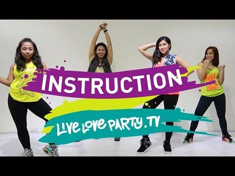 Instruction [Desktop View] | Zumba® | Live Love Party | Dance Fitness